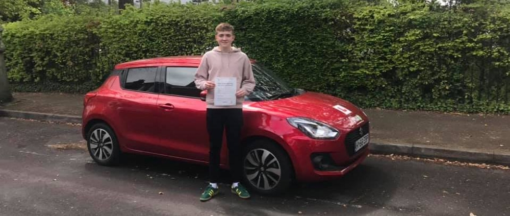 Will Freemantle passed first time on 24th April 2019 with only 2 faults