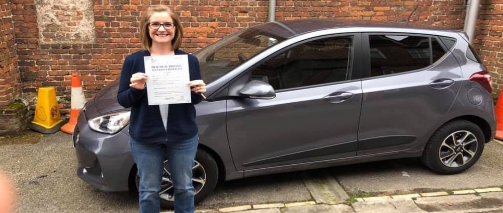 Mika Jin passed first time on 22nd March 2019 with only 1 fault